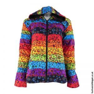 Rainbow-Fleece-Lined-Hooded-Jacket