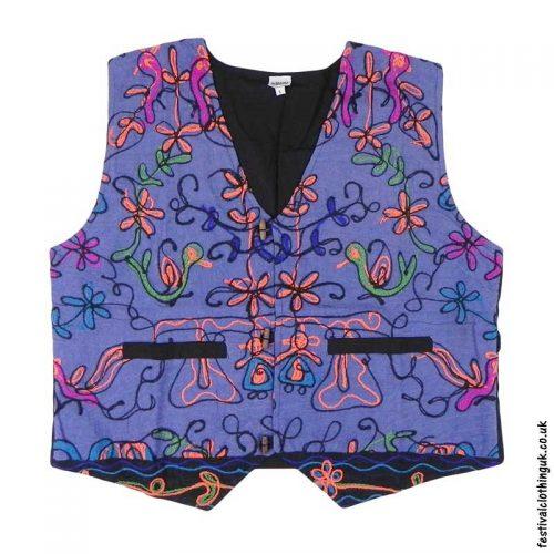 Blue-Embroidery-Festival-Waistcoat