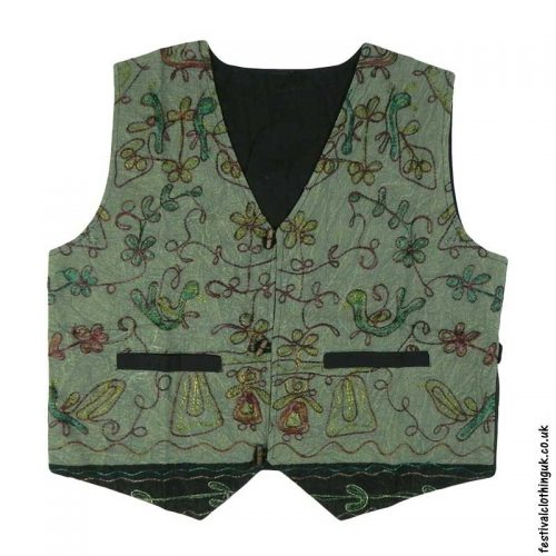 Green-Embroidery-Festival-Waistcoat