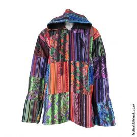 Patchwork-Fleece-Lined-Hooded-Festival-Jacket