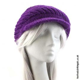 Purple-Peaked-Wool-Hat