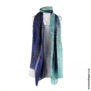 Recycled-Indian-Sari-Festival-Scarf-Blue