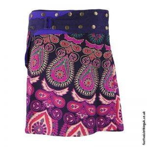 Short-Cotton-Popper-Wrap-Skirt-Purple-Pink