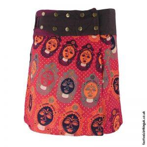 Short-Cotton-Popper-Wrap-Skirt--Red