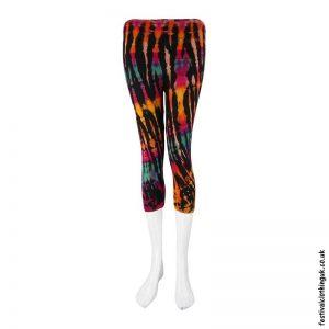 Short-Multicoloured-Tie-Dye-Festival-Leggings