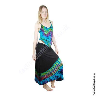 Tie-Dye-summer-festival-clothing-skirt