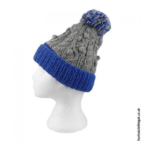 Wool-Festival-Cable-Knit-Bobble-Hat-Blue