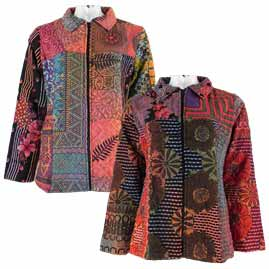 Various Patchwork Jackets