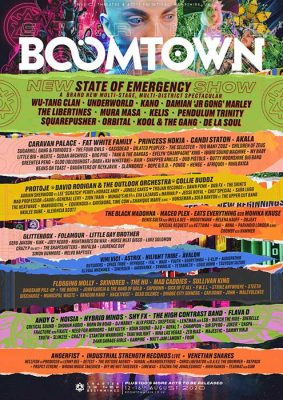Boomtown Festival 2020 - Chapter 12: Lineup