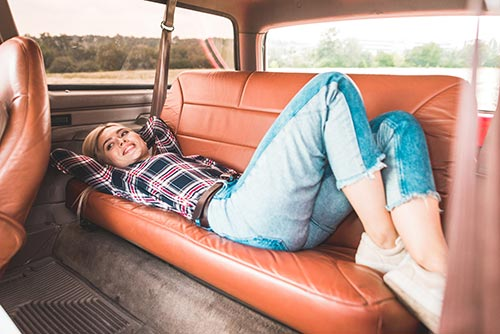 Can you sleep in your car at a Festival?