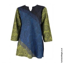 Blue-Circle-Pattern-Festival-Tunic