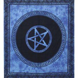 Blue-Dyed-Pentagram-Festival-Throw