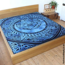 Dyed-Blue-Pentagram-Festival-Throw