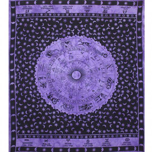 Dyed-Purple--Zodiac-Festival-Throw-Front