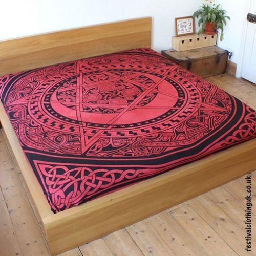 Dyed-Red-Pentagram-Festival-Throw