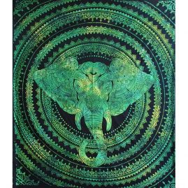 Green-Elephant-Festival-Throw