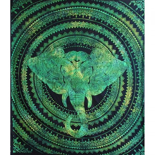 Green-Elephant-Festival-Throw