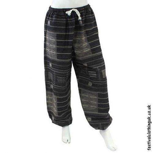 Heavy-Cotton-Festival-Trousers-Black