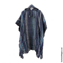 Hooded-Cotton-Festival-Poncho-Blues