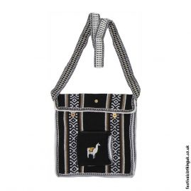 Llama-Festival-Shoulder-Bag-Black