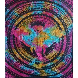 Mulitcoloured-Elephant-Festival-Throw