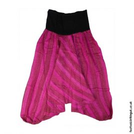 Pink-Acrylic-Ali-Baba-Harem-Festival-Trousers
