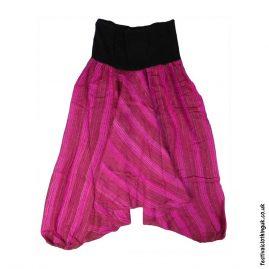 Pink-Acrylic-Ali-Baba-Harem-Festival-Trousers