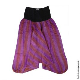 Purple-Acrylic-Ali-Baba-Harem-Festival-Trousers
