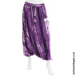 Purple-Tie-Dye-Harem-Ali-Baba-Festival-Pants