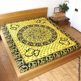 Tie-Dye-Yellow-Om-Festival-Throw