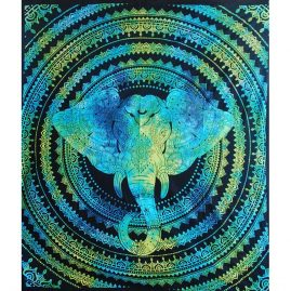 Turquoise-Elephant-Festival-Throw