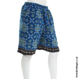 Blue-Patterned-Cotton-Festival-Shorts
