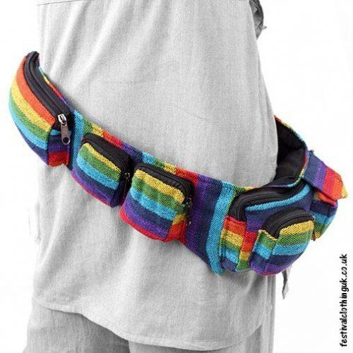Rainbow-Utility-Hip-Bag