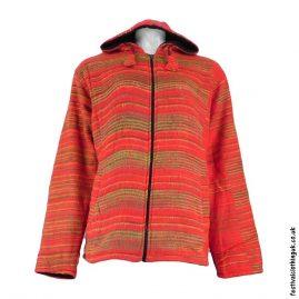 Red-Fleece-Lined-Blanket-Jacket