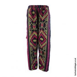 Black-Pattern-Woven-Festival-Trousers