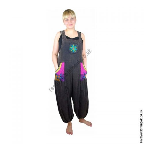 Festival-Dungarees-with-Flower-Design-Example1