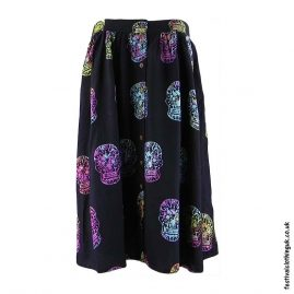 Flowing-Candy-Skull-Festival-Skirt