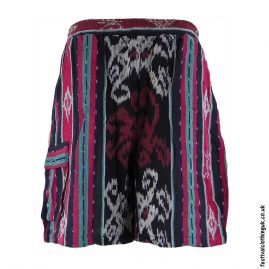 Gheri-Weave-Long-Festival-Shorts-Red