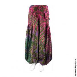 Green-Tie-Dye-Baggy-Cotton-Festival-Trousers