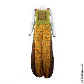 Patchwork-Festival-Dungarees-with-Om-Print