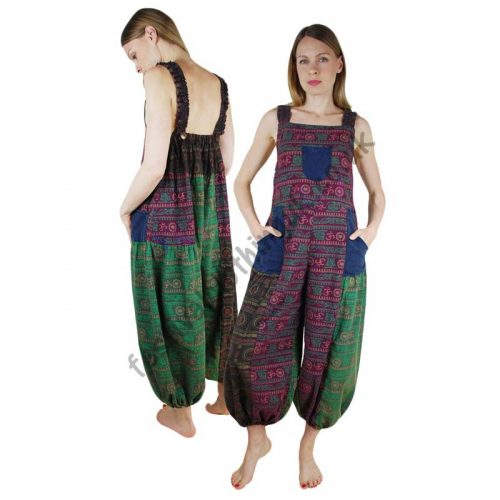 Patchwork-Festival-Dungarees-with-Om-Print-Example1