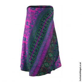 Pink-Green-Blanket-Wrap-Festival-Skirt
