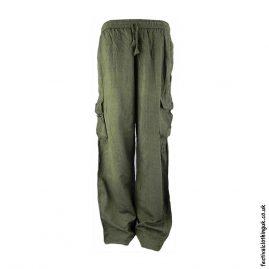 Plain-Festival-Cargo-Trousers-Green
