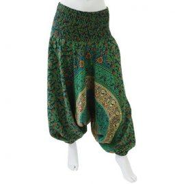 Green-Throw-Ali-Baba-Harem-Festival-Pants