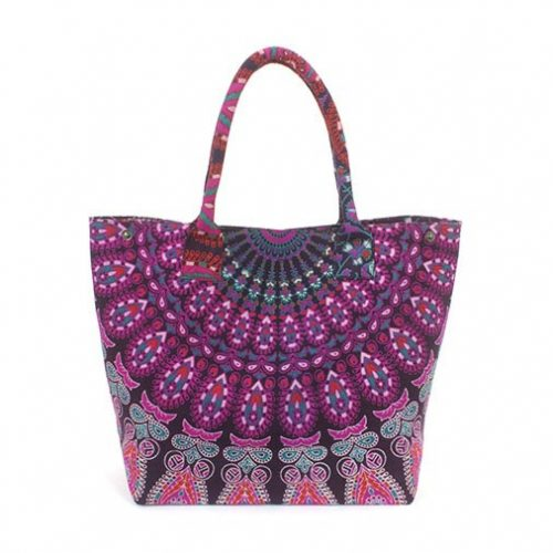 Large-Cotton-Throw-Festival-Beach-Bag-Pink