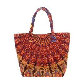 Large-Cotton-Throw-Festival-Beach-Bag-orange
