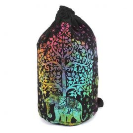 Backpack duffel bag elephant tree