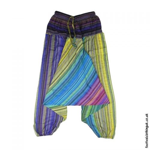 Multicoloured-Harem-Ali-Baba-Festival-Pants-a