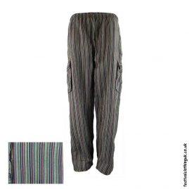 Festival-Cargo-Trousers-Striped-Black-Mix