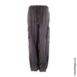 Festival-Cargo-Trousers-Striped-Brown